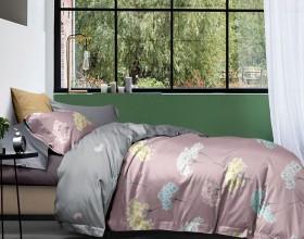 Комплект постельного белья 1,5-спальный, фланель 1655-4S