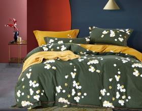 Комплект постельного белья 1,5-спальный, фланель 1668-4S