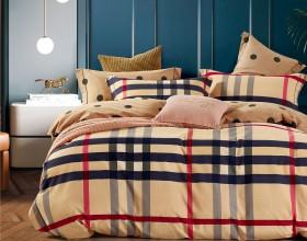 Комплект постельного белья 1,5-спальный, фланель 1670-4S