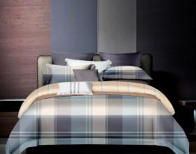 Комплект постельного белья 1,5-спальный, фланель 1676-4S