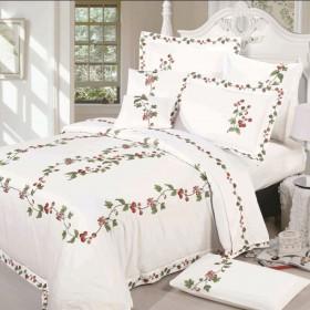 Комплект постельного белья Евро, люкс-сатин 595-4
