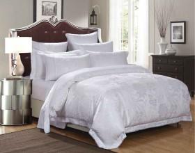 Комплект постельного белья Евро, жаккард 623-4